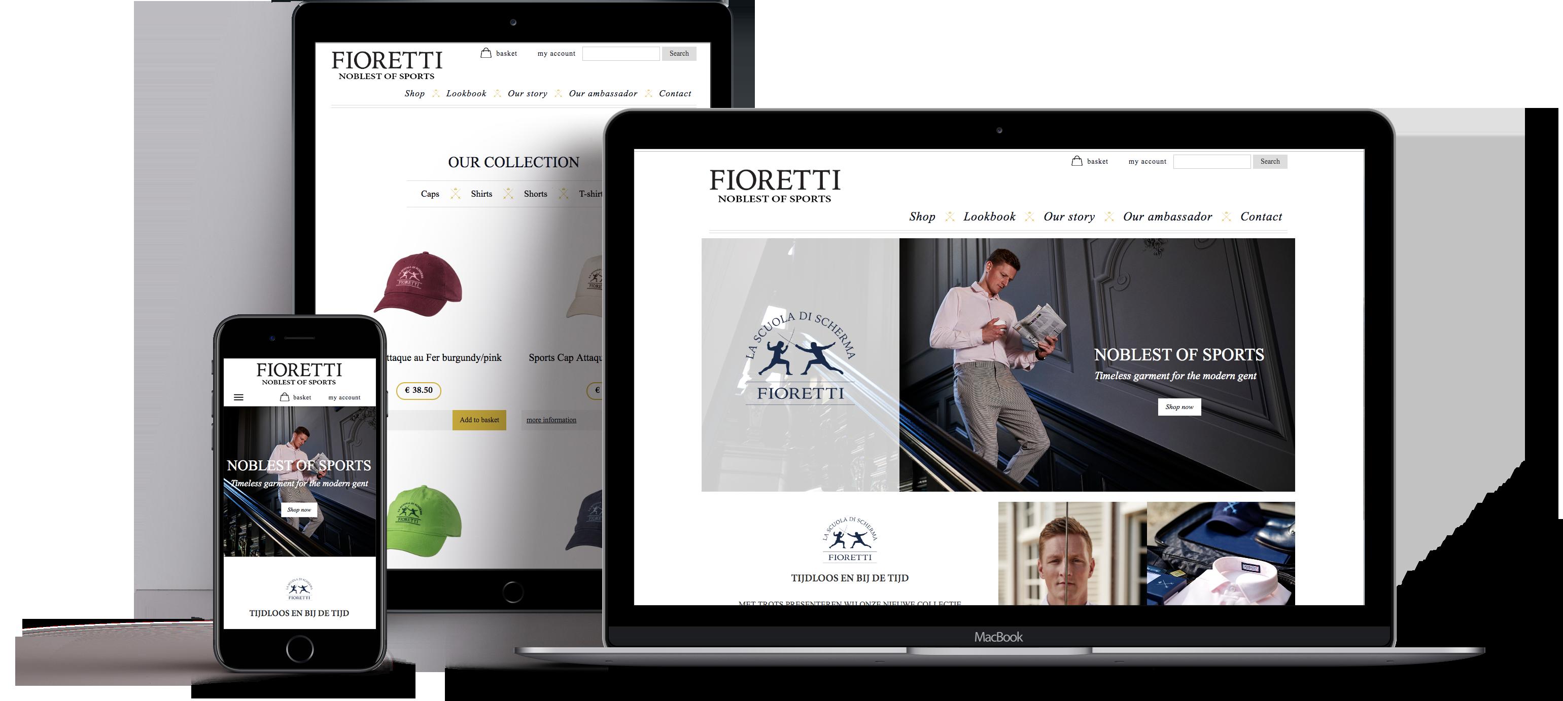 Fioretti homepage